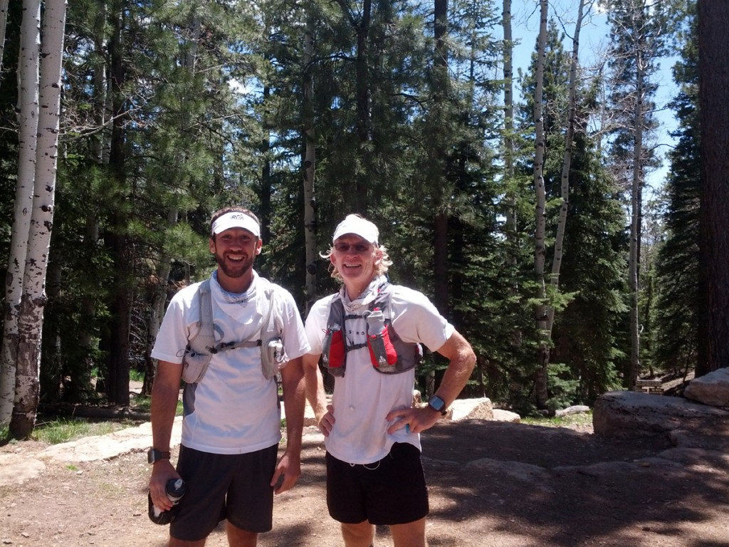 Deron and I getting ready to leave the North Rim