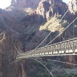 The Silver Bridge crossing the Colorado River